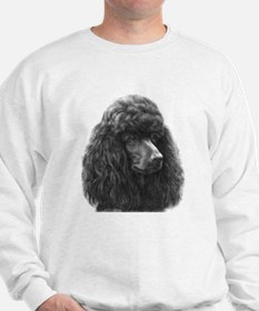 Black or Chocolate Poodle Sweater