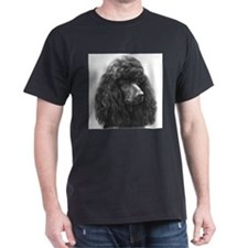 Black or Chocolate Poodle T-Shirt