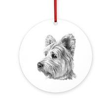 West Highland Terrier Ornament (Round)