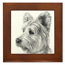West Highland Terrier Framed Tile