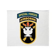 SWC Patch w/SF Tab Throw Blanket