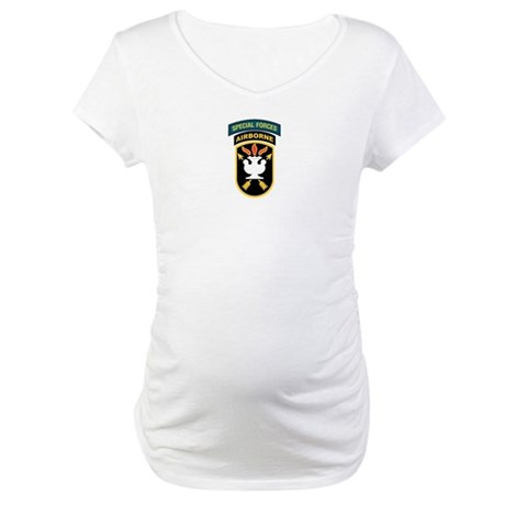 SWC Patch w/SF Tab Maternity T-Shirt