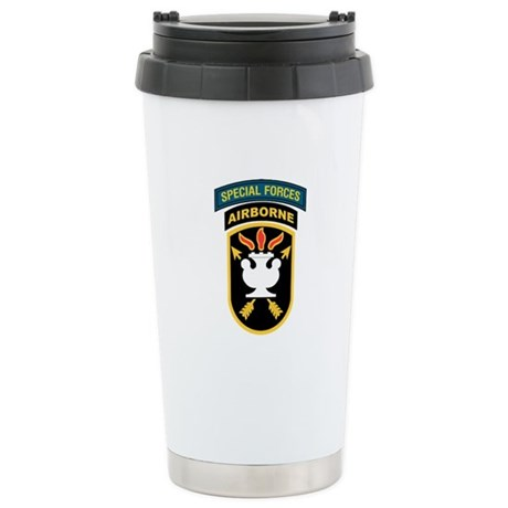 SWC Patch w/SF Tab Stainless Steel Travel Mug