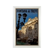 Trevi Fountain Rectangle Magnet (10 pack)