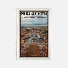 St. Peter's Square Rectangle Magnet