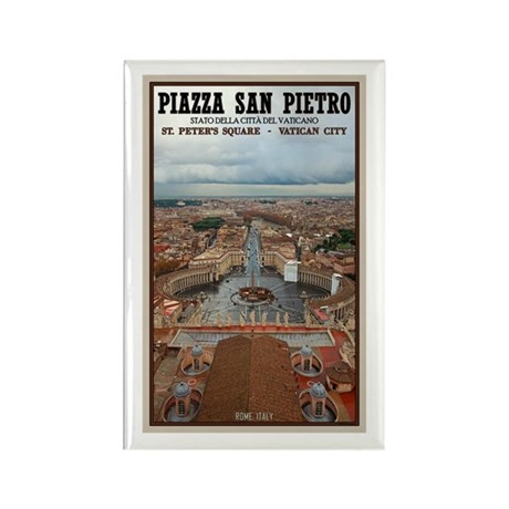 St. Peter's Square Rectangle Magnet (10 pack)