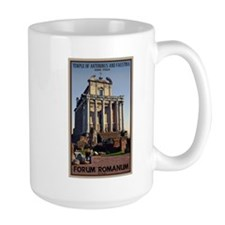 Temple of Ant. and Faust. Mug