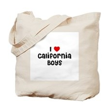 I * California Boys Tote Bag