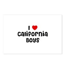 I * California Boys Postcards (Package of 8)