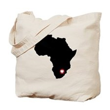 African Heart Tote Bag