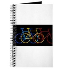 Three Bicycles on Black Journal