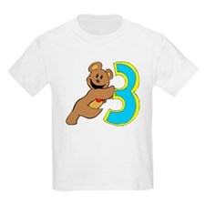 Teddy bear 3 year old Kids T-Shirt