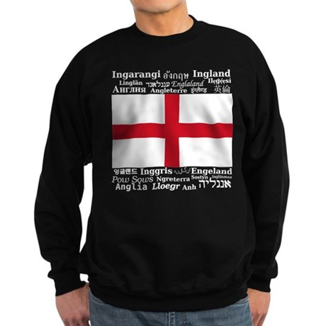 England Multilingual Sweatshirt (dark)