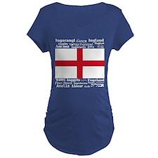 England-Multi_Dark Maternity T-Shirt