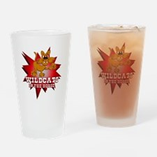Wildcats in the House Pint Glass