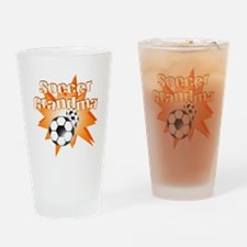 Soccer Grandma Pint Glass