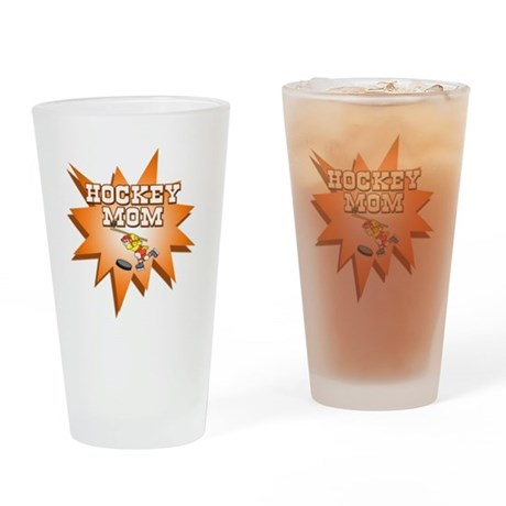 Hocky Mom Pint Glass