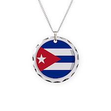 Cool Cuban flag designs Necklace