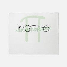 Inspire Green Throw Blanket