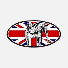 British Bulldog Flag Patches
