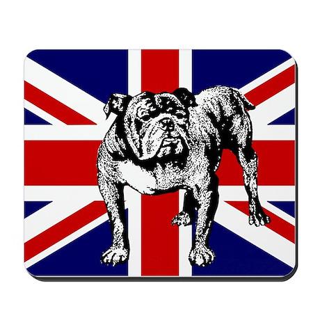 British Bulldog Flag Mousepad