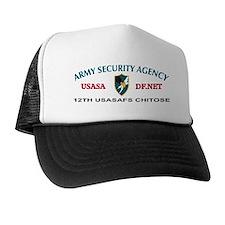 12th USASA Field Station Trucker Hat