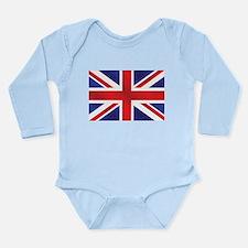 Union Jack UK Flag Onesie Romper Suit