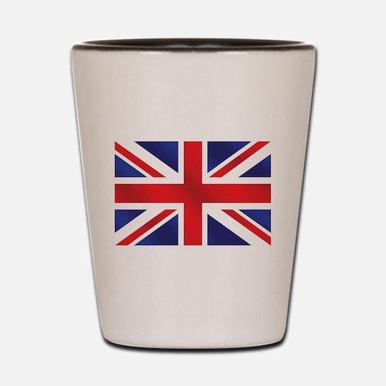 Union Jack UK Flag Shot Glass