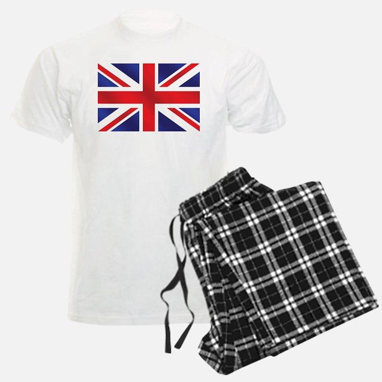 Union Jack UK Flag Pajamas