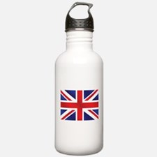 Union Jack UK Flag Water Bottle