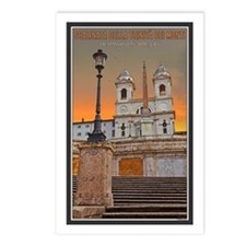 Spanish Steps Postcards (Package of 8)