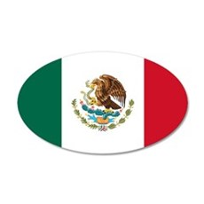 Mexican Flag Wall Decal