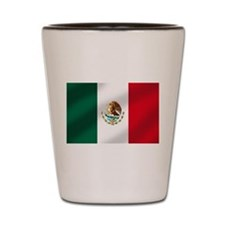 Mexican Flag Shot Glass