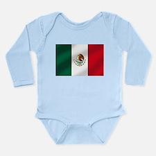 Mexican Flag Long Sleeve Infant Bodysuit
