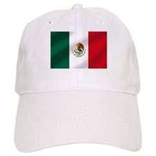 Mexican Flag Baseball Cap
