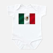 Mexican Flag Infant Bodysuit