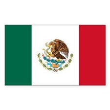 Mexican Flag Decal