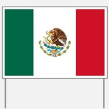 Mexican Flag Yard Sign