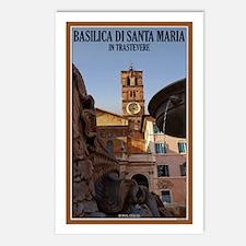 Santa Maria Trastevere Postcards (Package of 8)