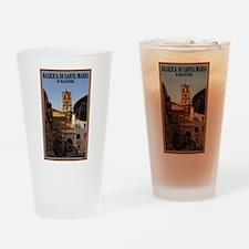 Santa Maria Trastevere Pint Glass