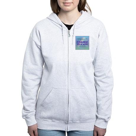ACIM-Seek Not to Change the World Women's Zip Hood