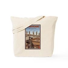 Vatican City Statues Tote Bag