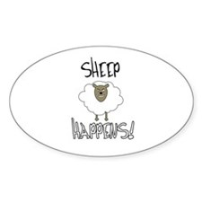 Sheep Happens Decal