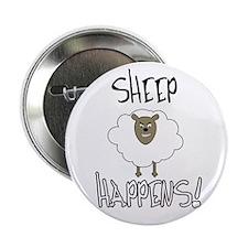 "Sheep Happens 2.25"" Button"