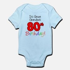It's Great Grandpa's 80th Bir Infant Bodysuit