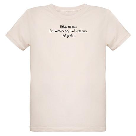 Haikus Are Easy Organic Kids T-Shirt
