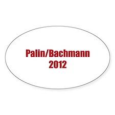 Palin / Bachmann 2012 Decal