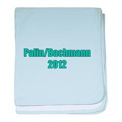 Palin / Bachmann 2012 baby blanket