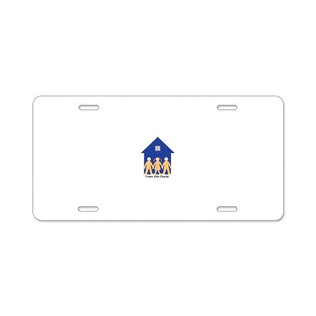 Compassion in Action Aluminum License Plate