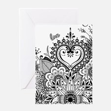 Cute Mehndi Greeting Card